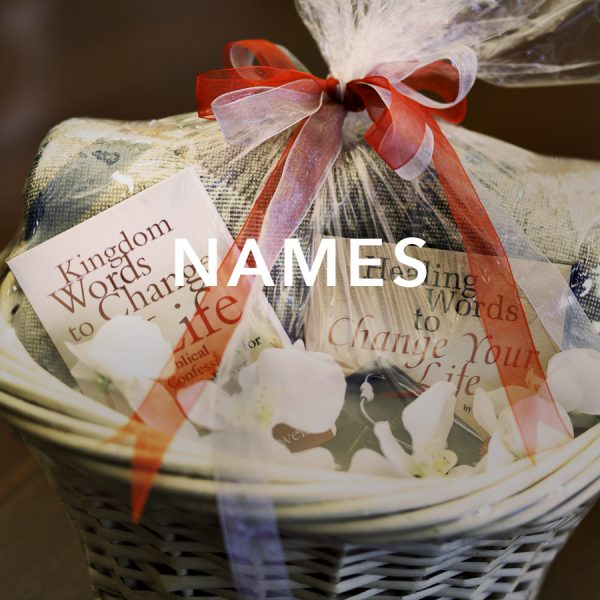 NAMES OF GOD GIFT BASKET