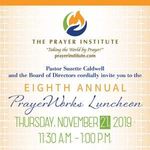 Prayer Works Luncheon 2019