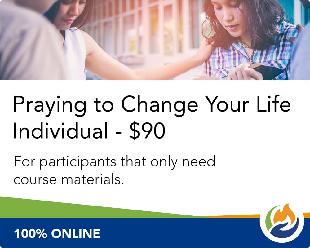 Praying to Change Your Life Individual without Supplies