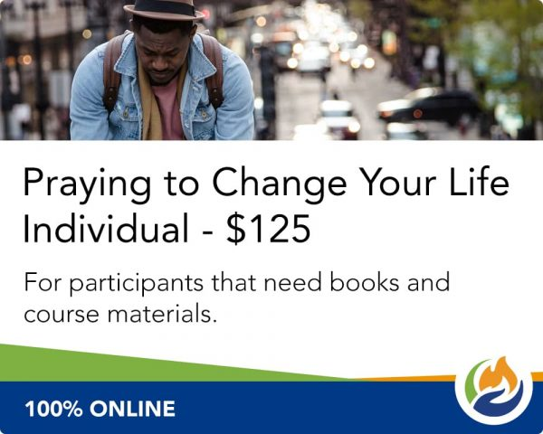 Praying to Change Your Life Individual with Supplies
