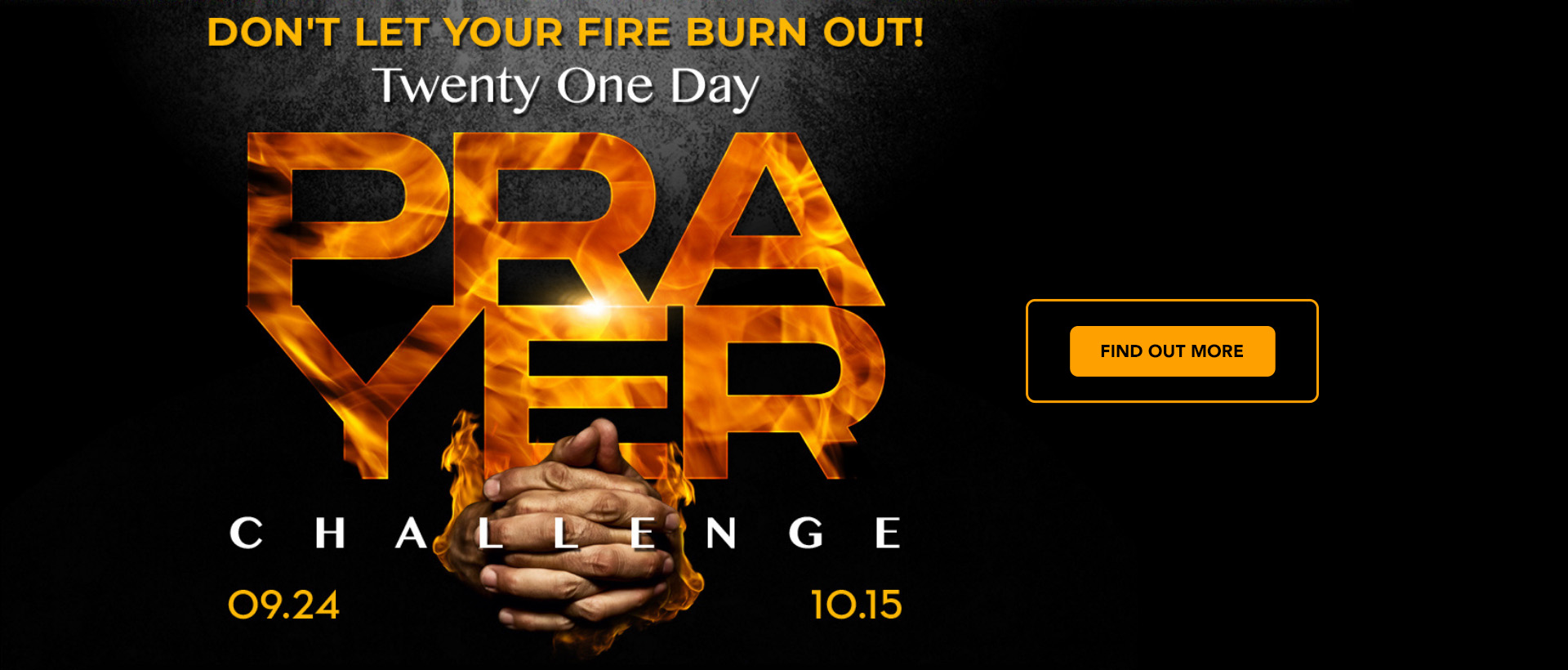 21-Day Prayer Challenge